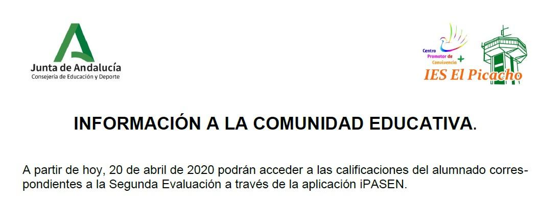Recorte comunicado 20-04-2020